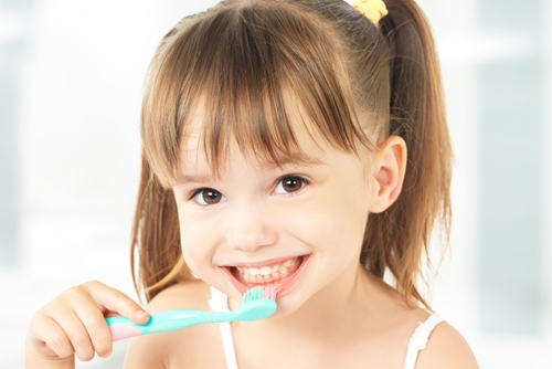 Why should your child be using toothpaste with fluoride?