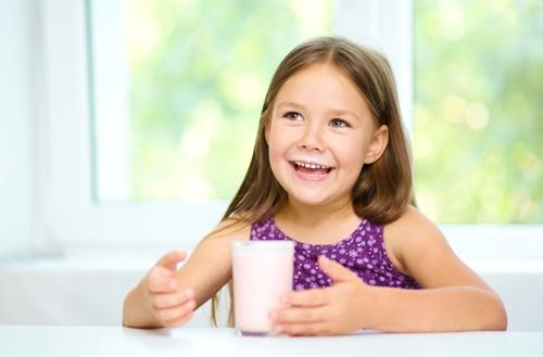 Calcium's in kids' dental hygiene